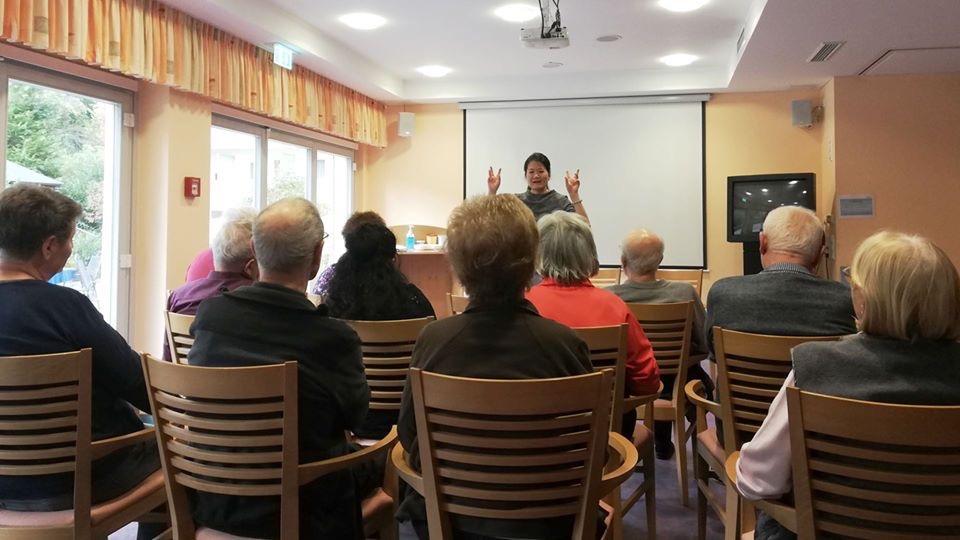 Regelmäßige Veranstaltung in der Salztal Klinik | Min Röder-Yu